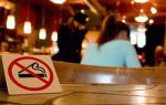 Где запрещено курить сигареты?