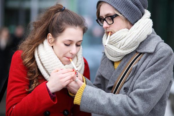 Курите только на улице