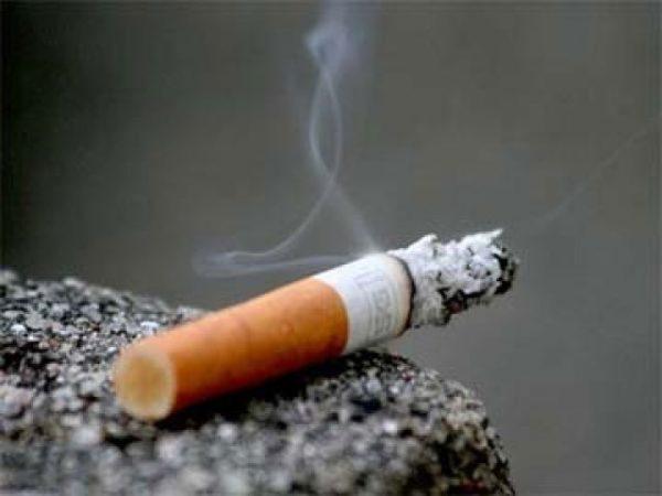 Табачный дым содержит яды