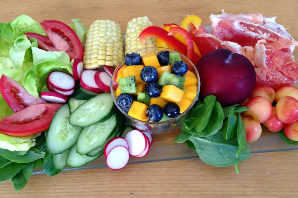 Пища богатая витаминами