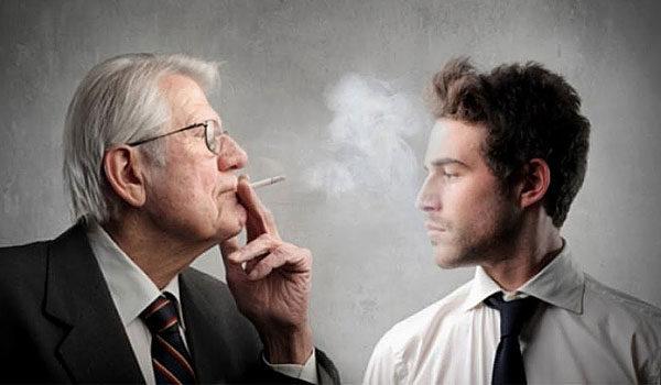 Табачный дым долго не выветривается