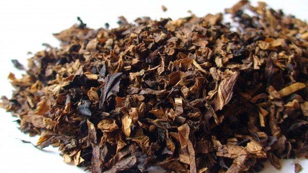 В табаке много токсинов
