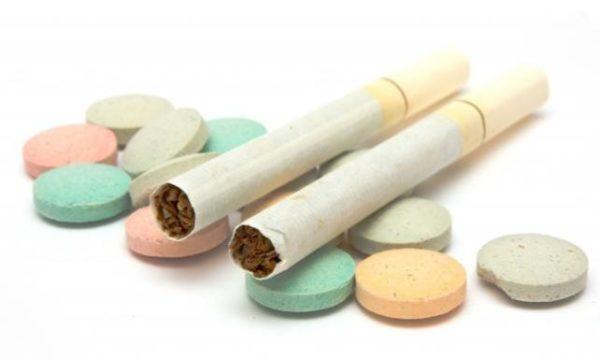 Сигареты можно заменить на терапевтические средства