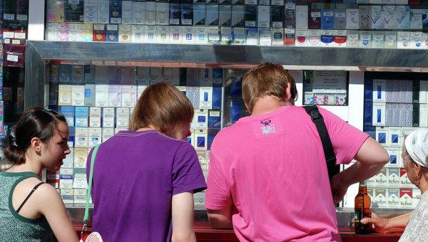За границей допустимый возраст для покупки сигарет отличается
