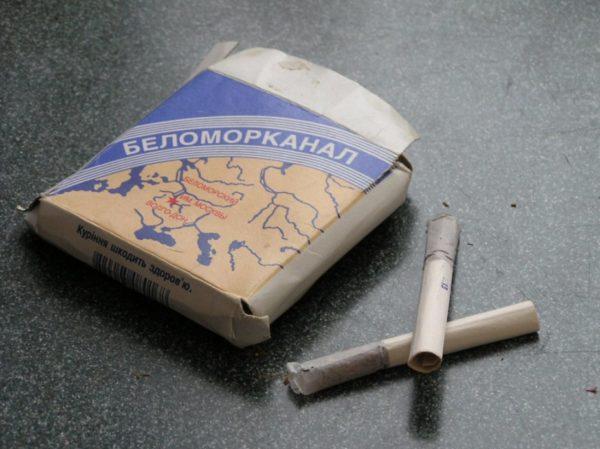 """""""Беломорканал"""" - одни из самых крепких сигарет"""