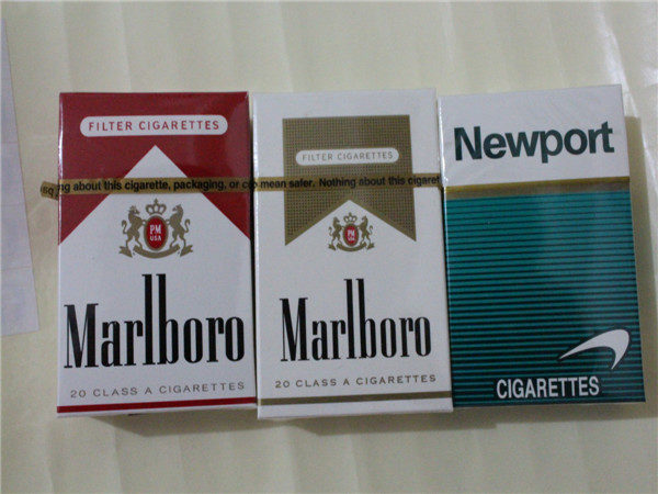 """Marlboro"" и ""Newport"" - очень крепкие сигареты"
