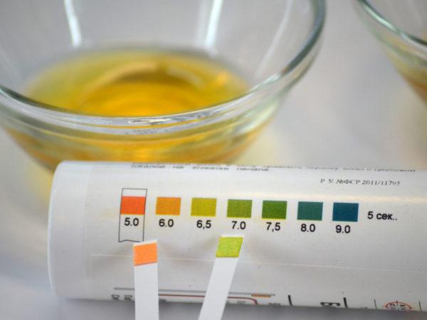 Специальные тест-полоски для обнаружения никотина в моче