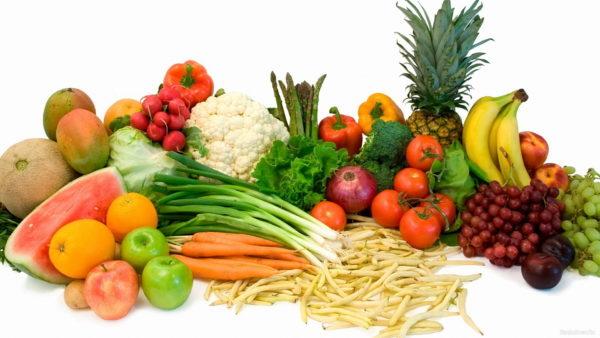 Чтобы не набрать вес, ешьте больше овощей и фруктов