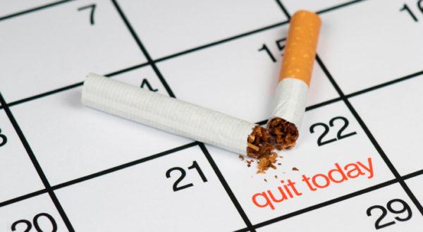 Составьте календарь отказа от курения