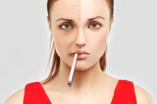 Сигареты портят внешность человека