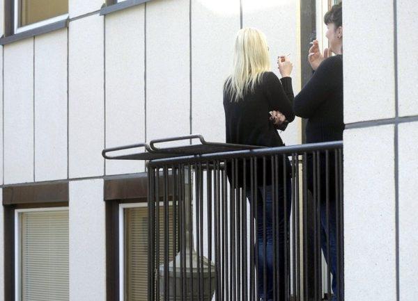 Курить можно только на индивидуальном балконе