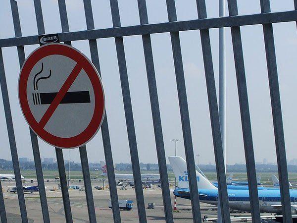 Есть ли штраф за курение в аэропорту