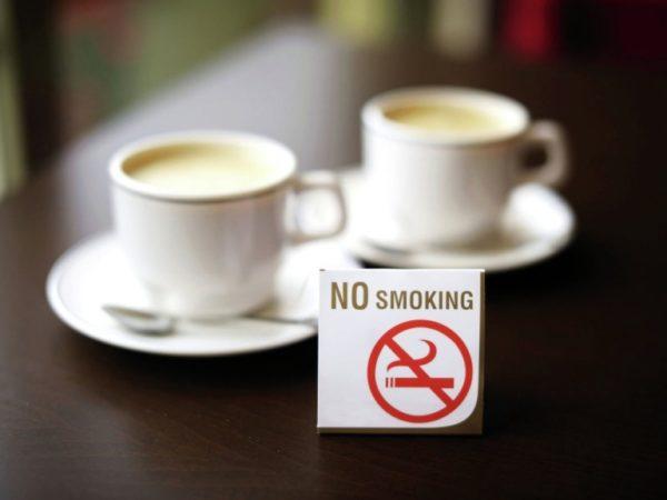 В Германии есть запрет на курение в местах общественного питания